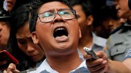 Polisi Myanmar Sebut Jurnalis Reuters Dijebak Sudah Bebas