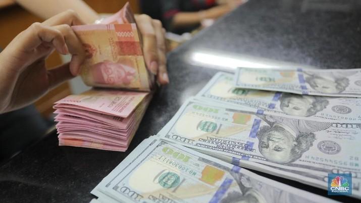Pukul 14.00 WIB: Rupiah Melemah ke Rp 13.665/US$