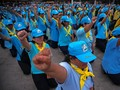 Raja Thailand Bentuk Basis Kekuatan Baru Lewat Relawan