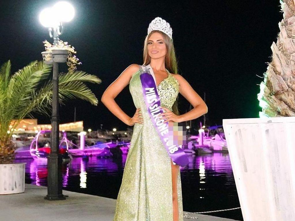 Wanita Ini Menang Miss Silicone, Kontes Kecantikan Payudara Palsu