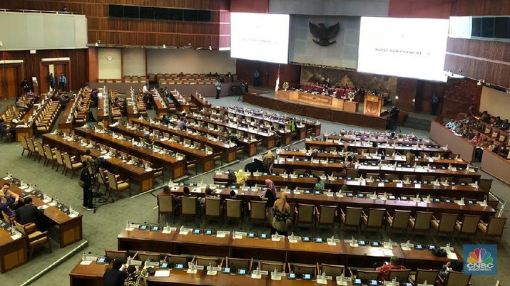 DPR mengesahkan RUU Anggaran Pendapatan dan Belanja Negara (APBN) 2019 menjadi perangkat Undang-Undang (UU).