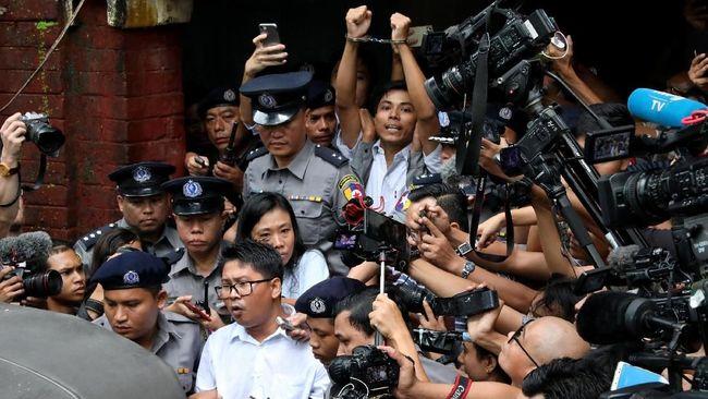 Divonis 7 Tahun Bui, 2 Wartawan Reuters di Myanmar Banding