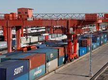 Data Ekspor-Impor China Moncer, di Atas Ekspektasi Pasar