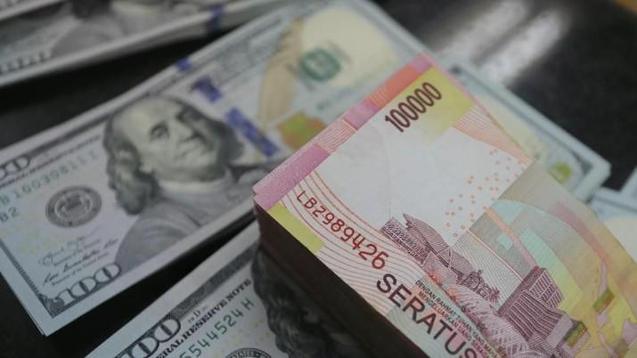 Pukul 13:00 WIB: Rupiah Menguat ke Rp 14.140/US$