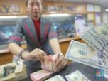 Dolar AS Masih Labil, Rupiah Menguat di Kurs Acuan