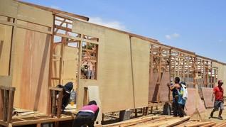 Bangun Hunian Sementara di Palu, PUPR Akui Kekurangan Lahan