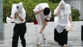 Badai dan Gempa Terjang Jepang, WNI Diimbau Waspada