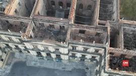 VIDEO: Fosil Purba Jadi Korban Kebakaran Museum Brasil