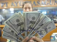 Dolar AS Bangkit, Rupiah Terlemah Ketiga di Asia