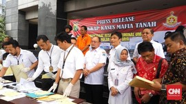 Polisi Tangkap Mafia Tanah Penggugat Aset Pemprov DKI