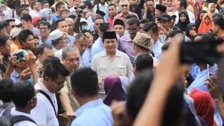 Prabowo Minta Doa ke Kiai Tasikmalaya, Jokowi Punya Aplikasi