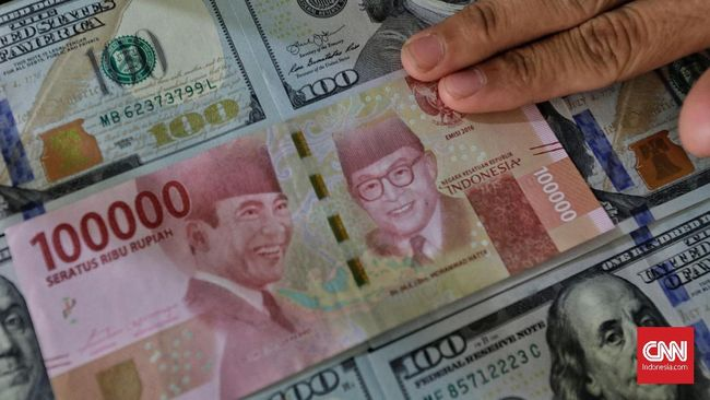 Damai Perang Dagang Angkat Rupiah ke Level Rp14.244 Per Dolar