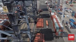 Surplus Neraca Dagang China dengan AS Menyempit