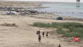 VIDEO: Danau Habbaniyah, Wisata Irak yang Terbengkalai