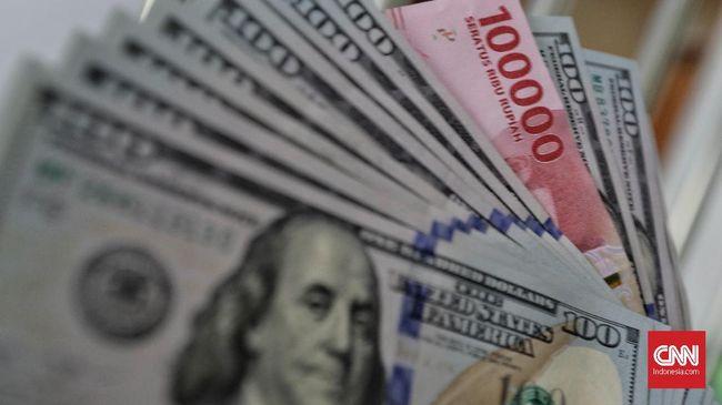 Imbas Perang Dagang, Rupiah Tembus Rp14.018 per Dolar AS