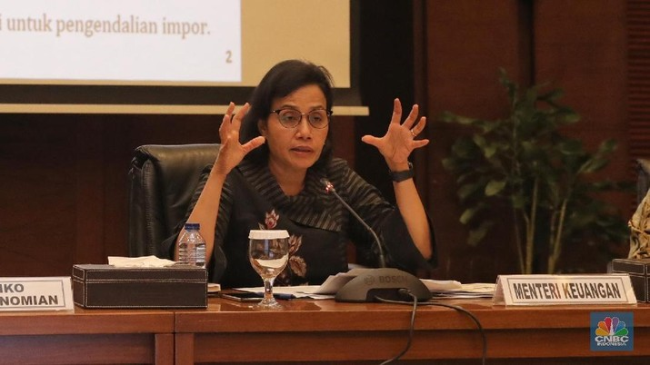 Sri Mulyani Bicara Soal Impor di RI Naik Dramatis