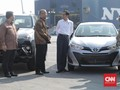 Jokowi Resmikan 1 juta Unit Ekspor Toyota dari Indonesia