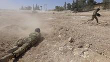 Pasukan Suriah Kembali Gempur Pemberontak, 18 Warga Tewas