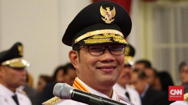Ridwan Kamil dan M Iriawan Sertijab Gubernur Jabar Hari ini
