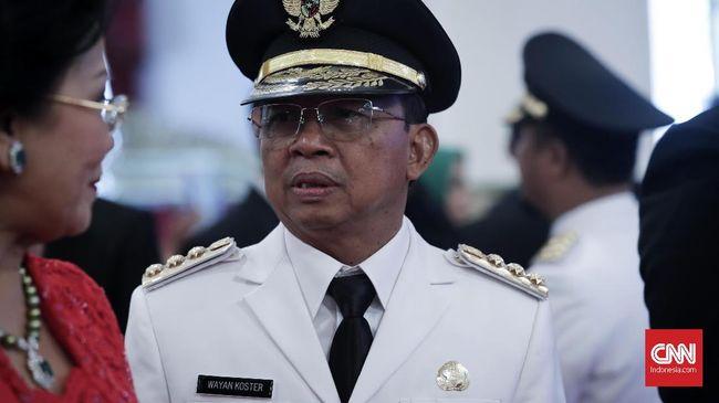 Ajak PIlih Jokowi di Acara Polisi, Koster Diadukan ke Bawaslu