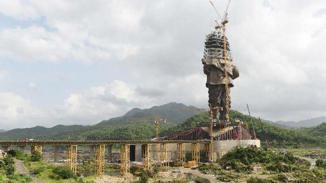 India Bersiap Bangun Patung Terbesar di Dunia
