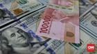 Kabinet Baru Jokowi Turut Kerek Rupiah Rp14.080 per Dolar AS