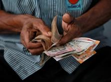 Rupee India Kembali Jatuh ke Rekor Terendah