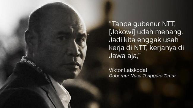 Viktor Laiskodat, Gubernur Nusa Tenggara Timur.