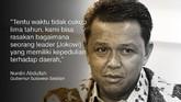 Nurdin Abdullah, Gubernur Sulawesi Selatan.