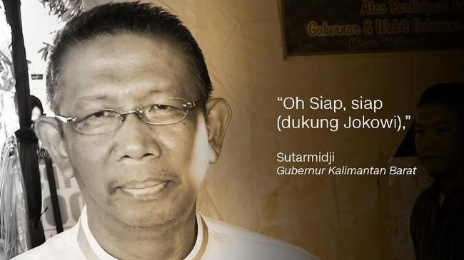 Sutarmidji, Gubernur Kalimantan Barat.