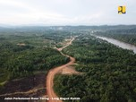 PR Infrastruktur Jokowi: Ada Jalan Perbatasan Belum Nyambung