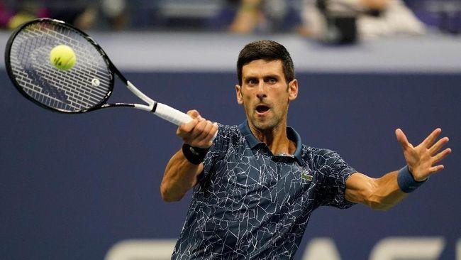 Novak Djokovic ke Semifinal AS Terbuka 2018