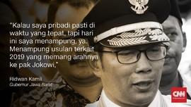 Suara Kepala Daerah Dukung Jokowi-Ma'ruf Amin