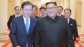 Tutup Pertemuan dengan Moon, Kim Jong-un Beri Hadiah Mahal