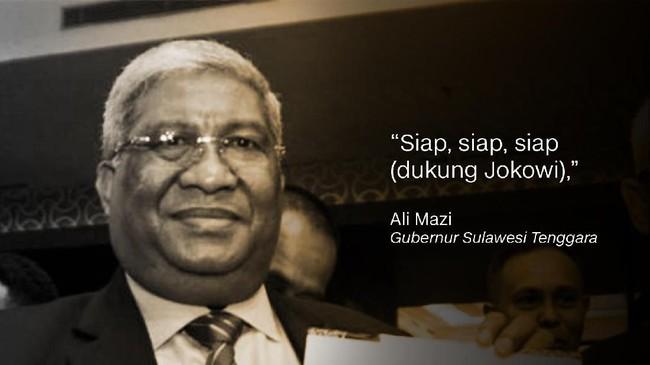 Ali Mazi, Gubernur Sulawesi Tenggara.