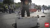 Tim Advokasi Kasus Pembunuhan Munir menegaskantitik terang dari kasus Munir berada di dokumen lengkap penyelidikan Tim Pencari Fakta (TPF). (CNN Indonesia/Adhi Wicaksono)