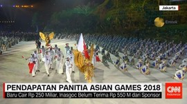 Pendapatan Panitia Asian Games 2018
