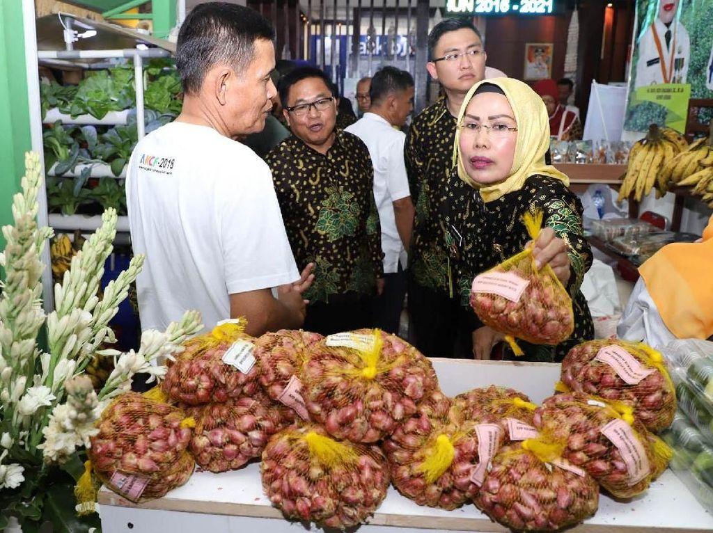 Anyer Krakatau Culture Festival 2018 dibuka oleh Bupati Serang Ratu Tatu Chasanah di Pendopo Kabupaten Serang, Banten, Jumat (7/9). Istimewa/Pemkab Serang.