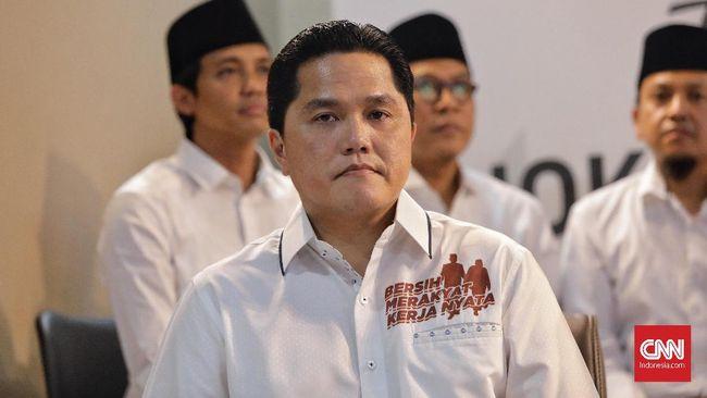 Urus Kampanye Jokowi, Erick Thohir Tak Risau Bisnis Goyah