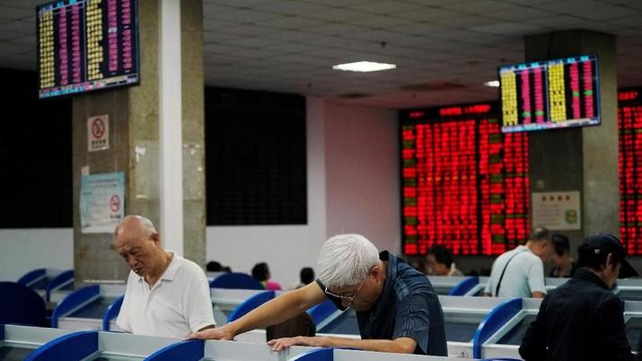 Mayoritas bursa saham utama kawasan Asia melaju di zona merah pada perdagangan hari ini.