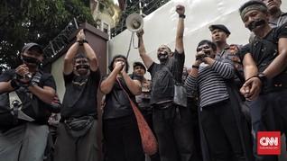 Desak Pembebasan Wartawan, Jurnalis Demo Kedubes Myanmar