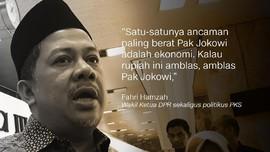Silang Pendapat Kubu Jokowi dan Prabowo soal Rupiah Anjlok