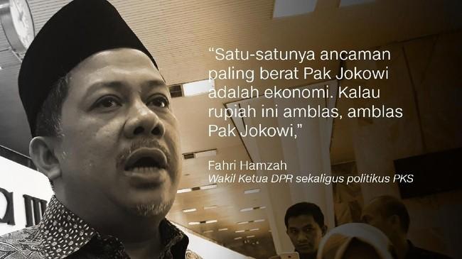 Fahri Hamzah, Politikus PKS.