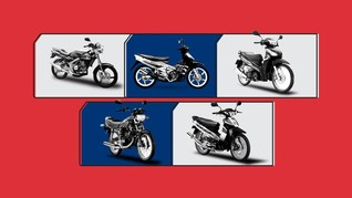 Motor-motor Populer untuk Balap Liar