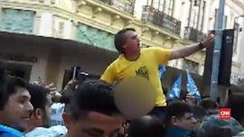 VIDEO: Detik-detik Penikaman Calon Presiden Brasil