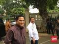 Deklarasi Ketua Timses, Erick Thohir Tiba di Rumah Cemara