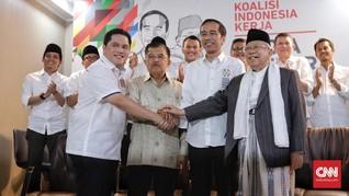 Jokowi Umumkan JK Ketua Dewan Pengarah Tim Kampanye
