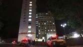 Rumah sakit menyebut Bolsonaro telah berhasil melalui operasi meski tidak memberikan detil lebih lanjut mengenai kondisi luka-lukanya (REUTERS/Ricardo Moraes)
