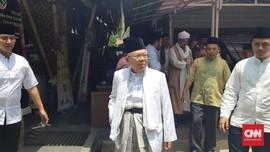 Ma'ruf Amin Akui Posisi Ketua Timses Mengarah ke Erick Thohir