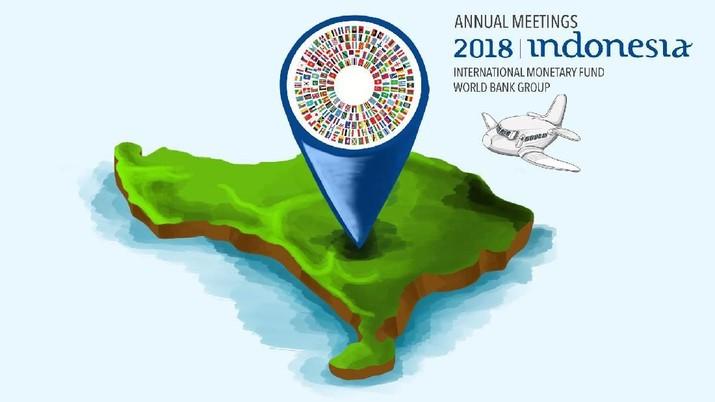 Tiga Fakta Tersembunyi di Balik Pertemuan Tahunan IMF-WB 2018